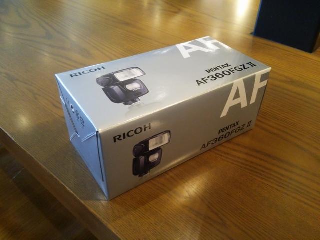 AF360FGZIIの外箱