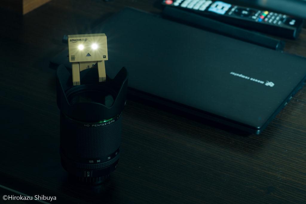 ダンボーの光る目は、原作のよつばと!を再現したものです