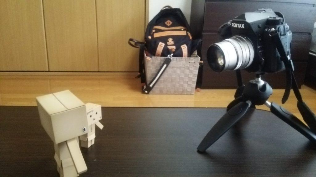 レンズ次第ですが、PIXI EVOにフルサイズ一眼レフカメラも乗せられます