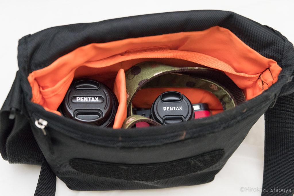 ベリーは小型な一眼カメラ1台+レンズ1本に最適