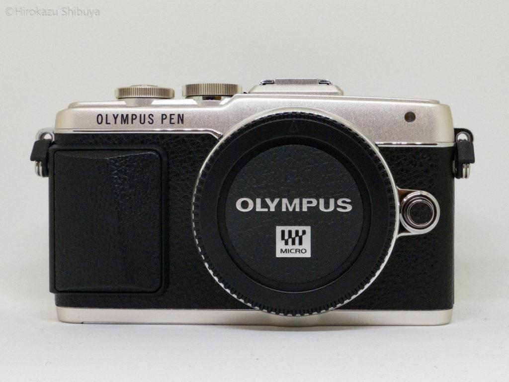 OLYMPUS PEN Lite E-PL7外観(前面)