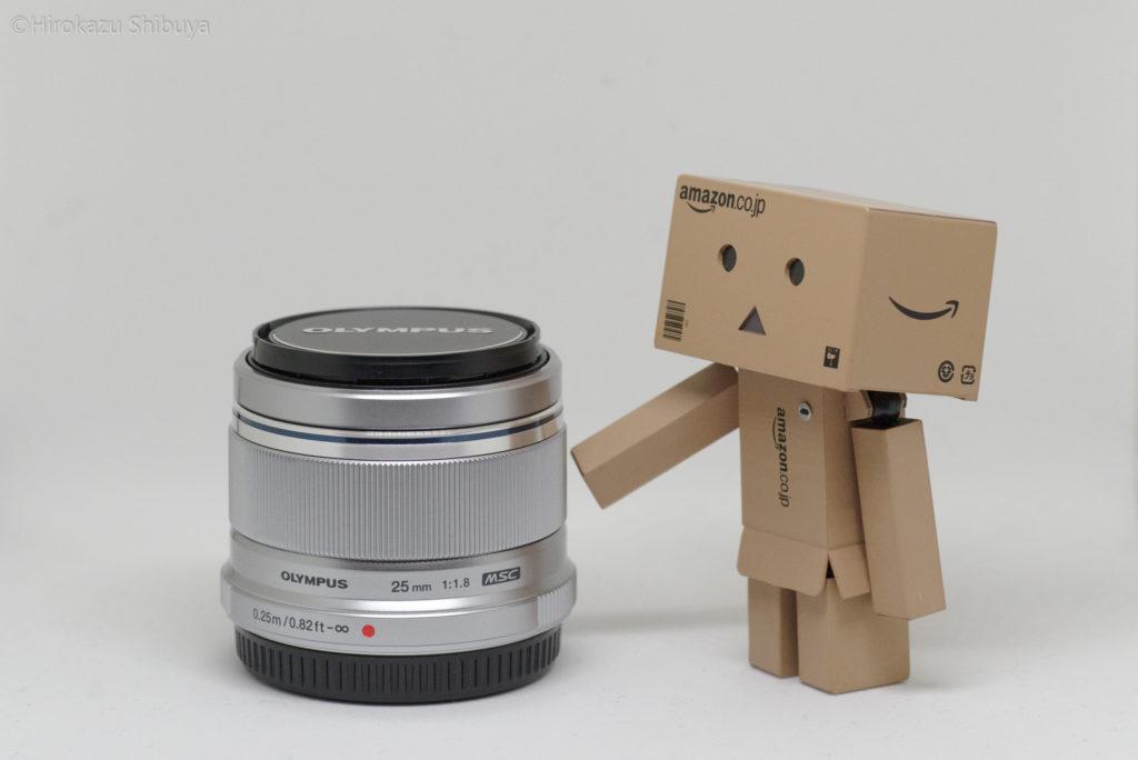 M.ZUIKO DIGITAL 25mm F1.8外観①