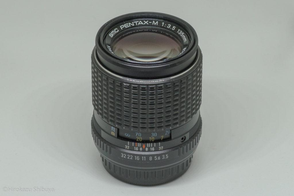 smc PENTAX-M 135mm F3.5の外観①