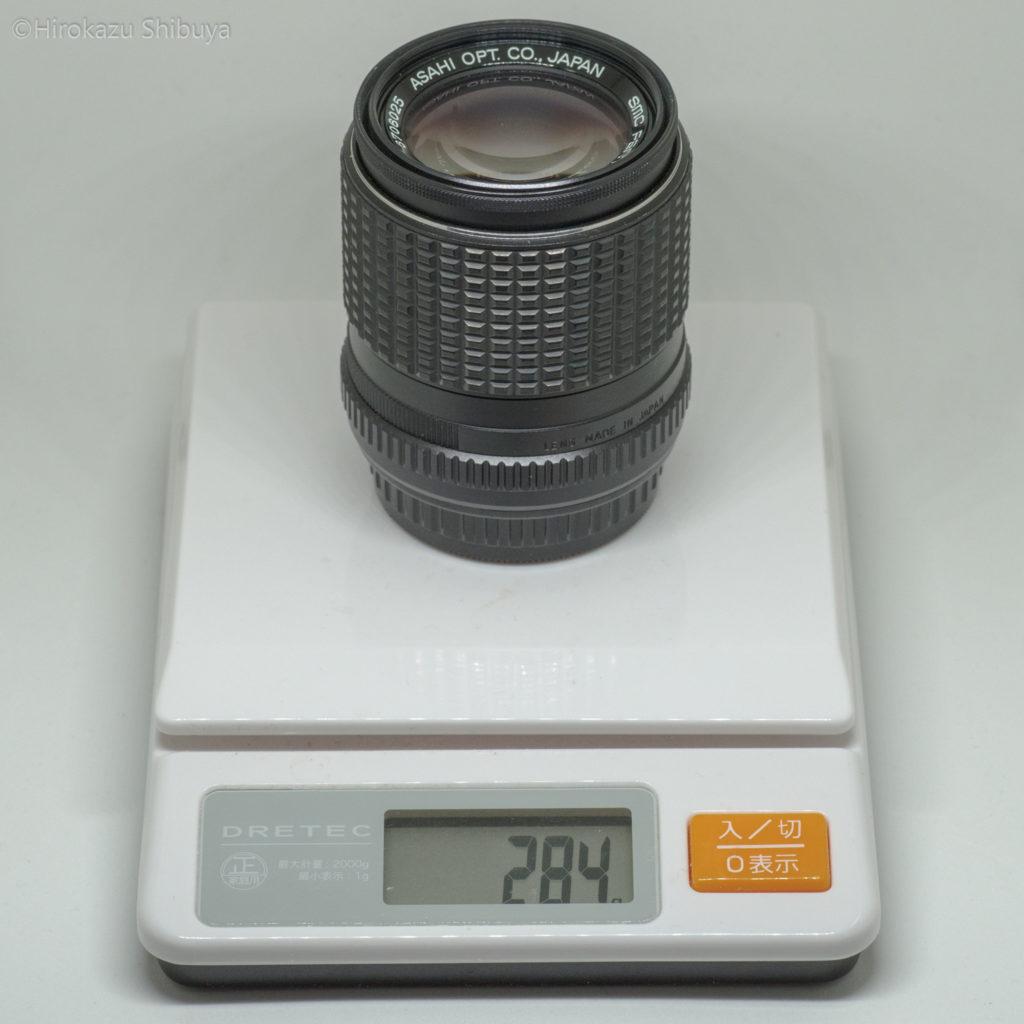 smc PENTAX-M 135mm F3.5の外観③
