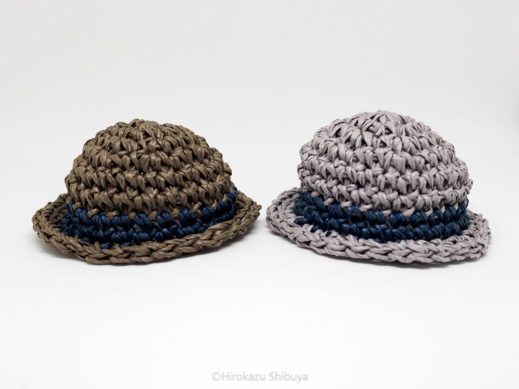 開封後のダンボー用の麦わら帽子