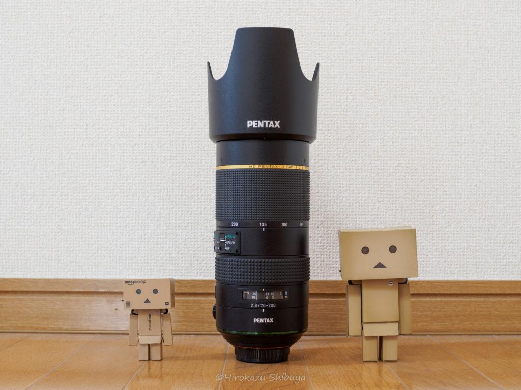 HD PENTAX-D FA★70-200mmF2.8ED DC AWの外観②