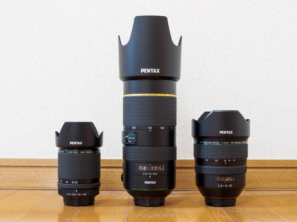 HD PENTAX-D FA★70-200mmF2.8ED DC AWの外観③